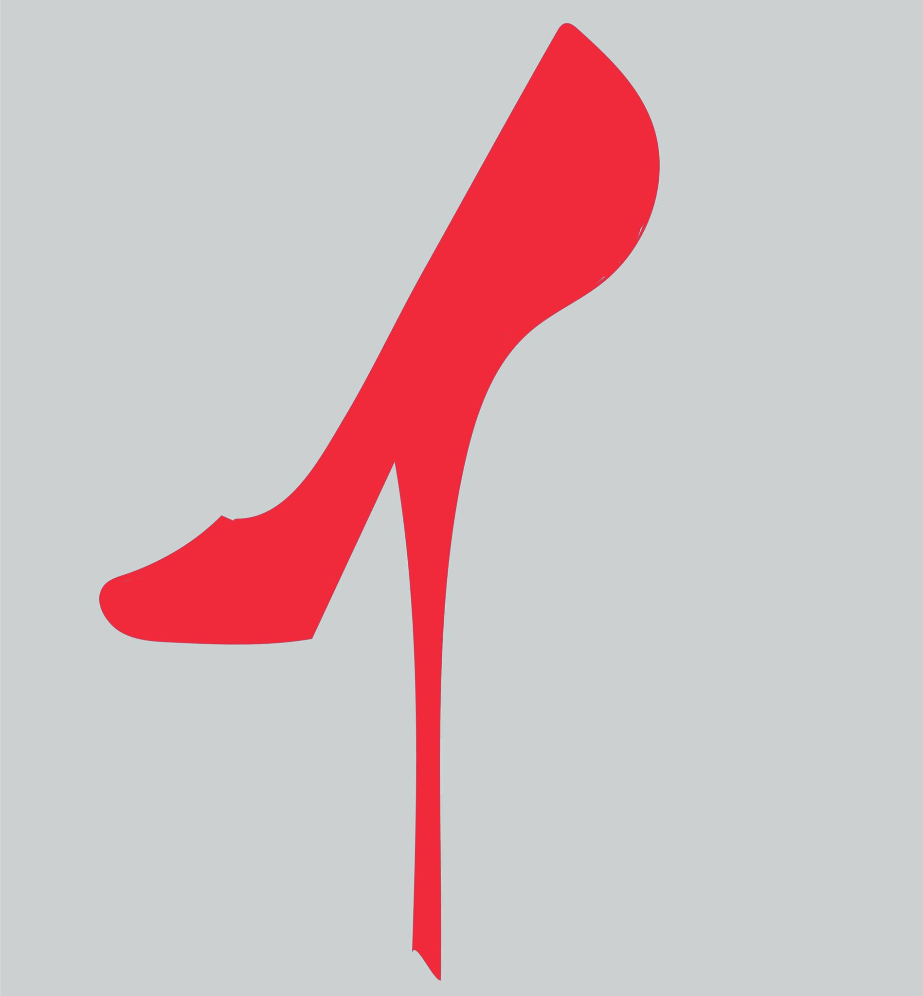 Red High Heel Logo